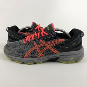 Asics Gel-Venture 6 Mens Size 11.5 4E Gray Shoes